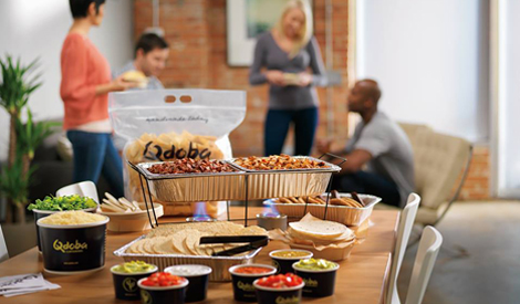 Hot Bar Catering from Qdoba