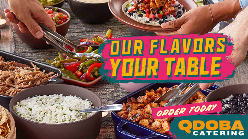 New Online Ordering At Qdoba