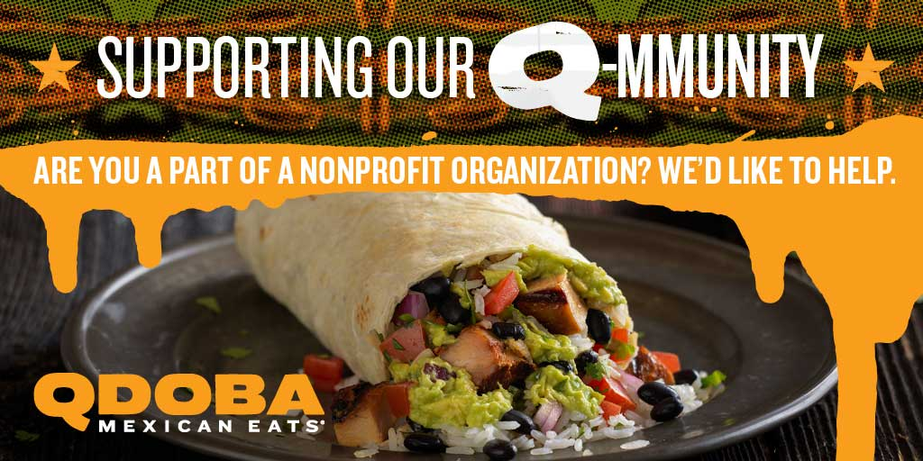 Raise Money For Your Charity - Qdoba Illinois Fundraising Submission Form